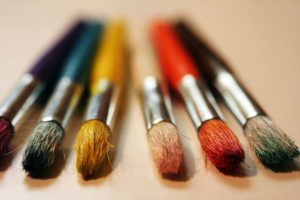 Paintbrush representing innovation and creativity at work