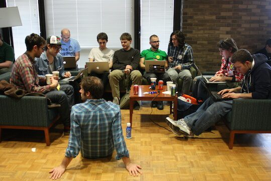 Hackathon is a new method for working in group