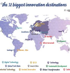 The 38 biggest innovative destination