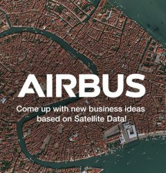 Bannière Airbus Global Earth Observation Challenge