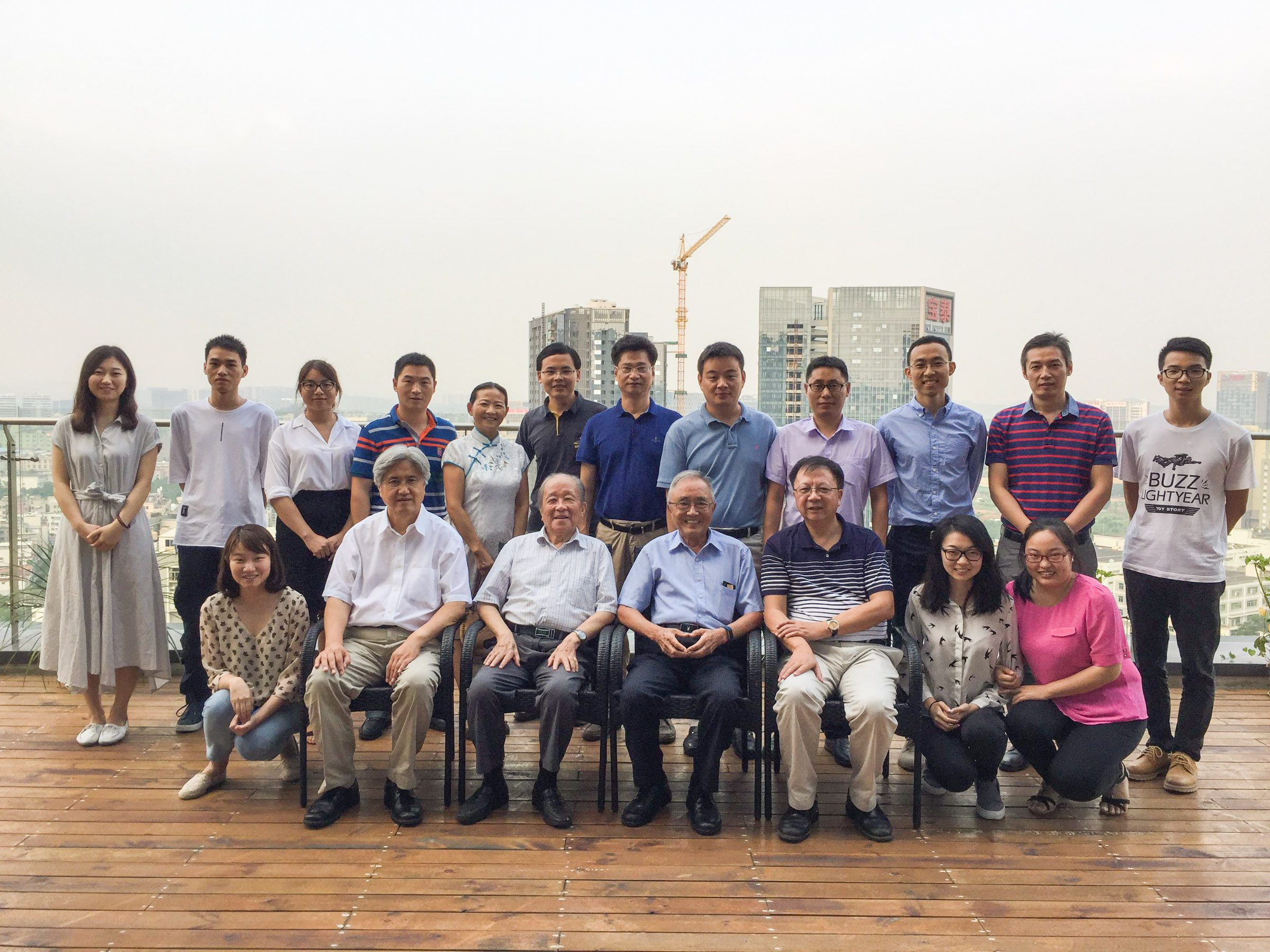 The HKUST Research Team, led by Prof. WEN Weijia