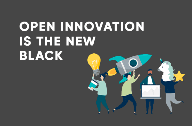 open innovation is the new black