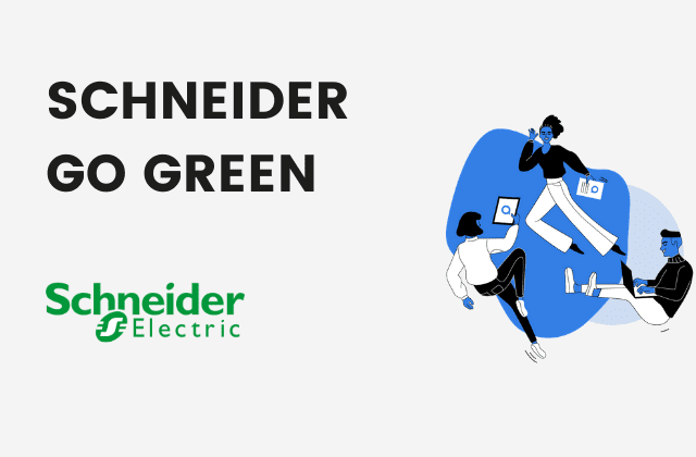 vignette schneider go green use case