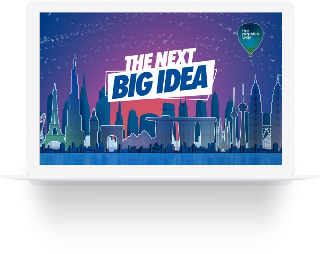 pepsico next big idea screen