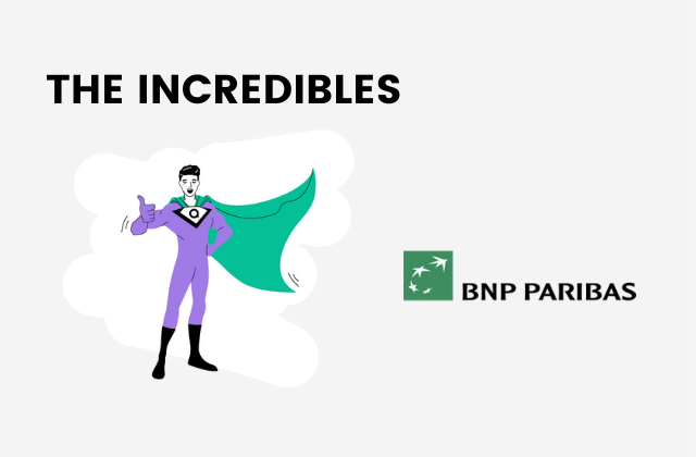 vignette BNP Paribas the incredibles