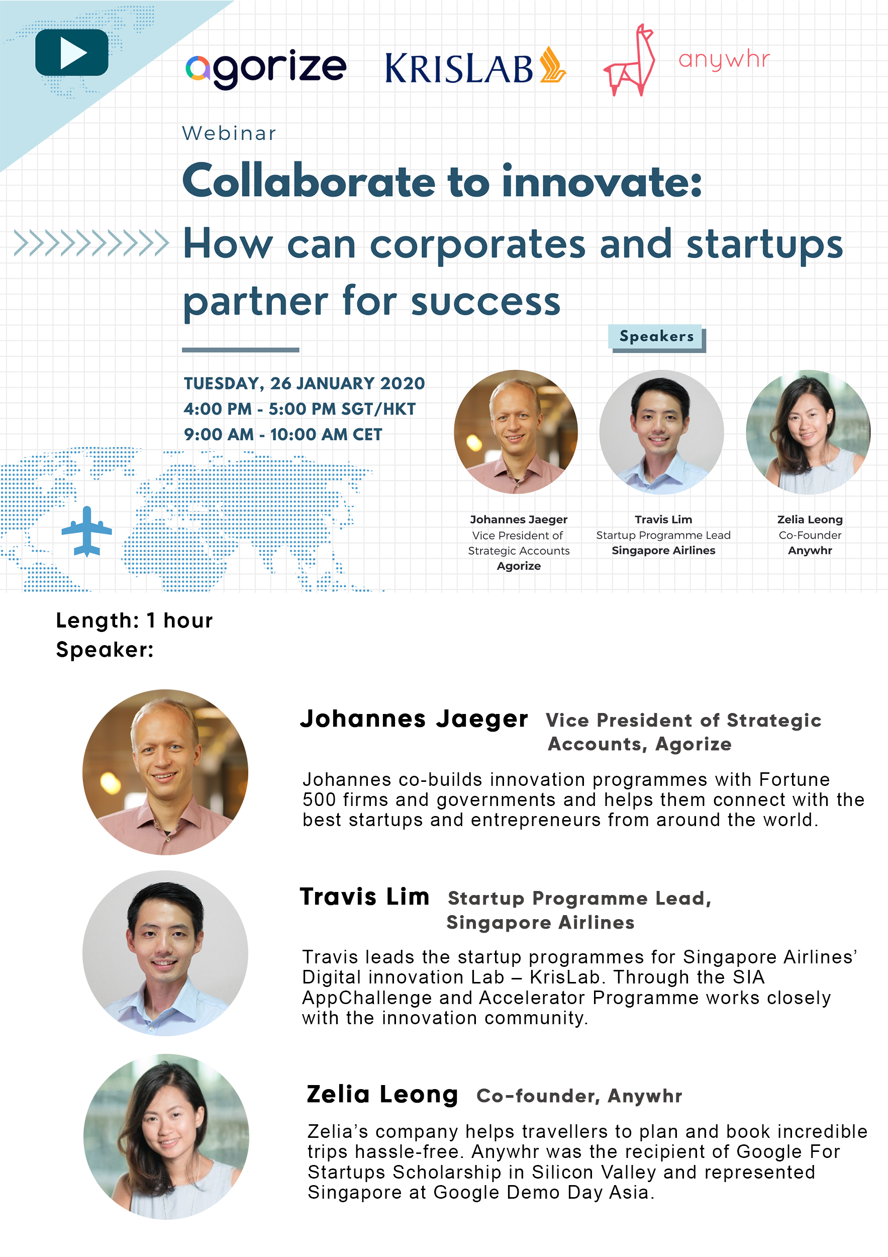 Singapore Airlines Webinar startup-corporate collaboration