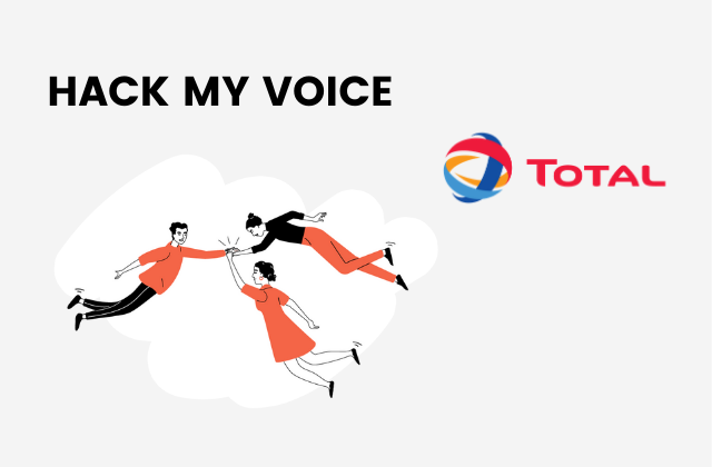 vignette total hack my voice use case