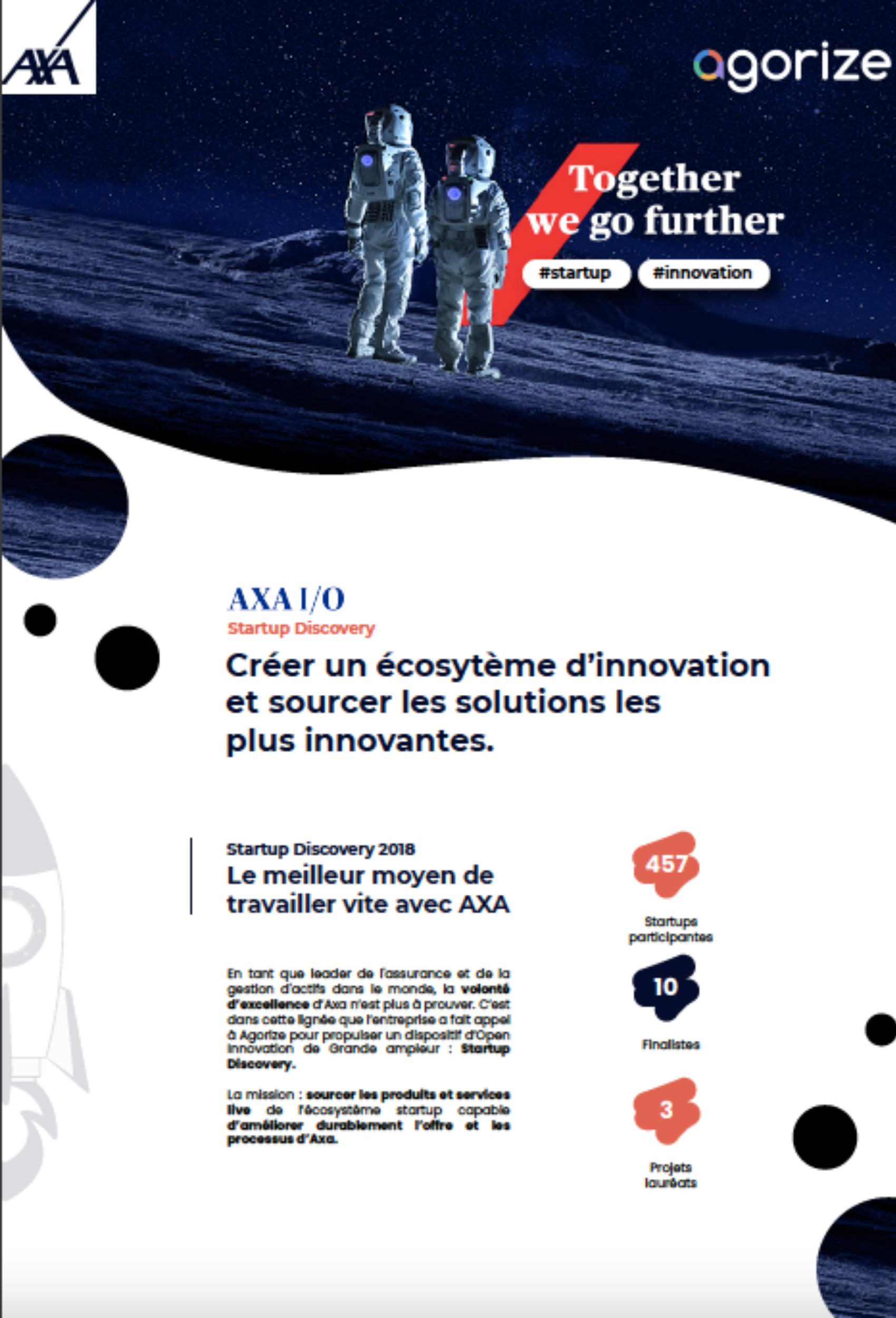 poster AXA startup discovery challenge