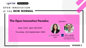 banner of open innovation is the new normal webinar ep 2