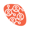 reverse red social icon