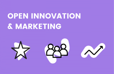 Vignette de l'ebook open innovation et marketing